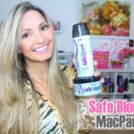 Resenha: shampoo e máscara Safe Blond MacPaul