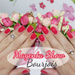 Magenta Show ultra shine Bourjois no esmalte da semana