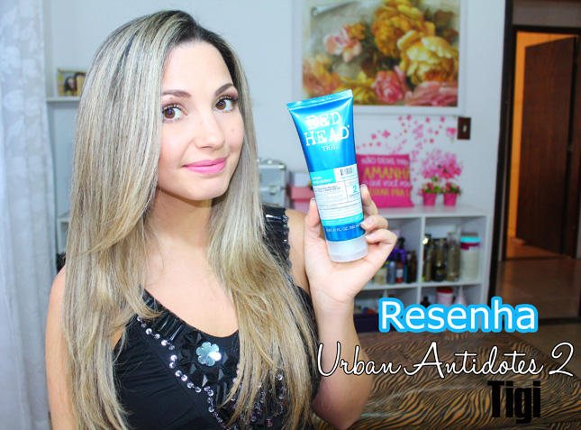 Resenha: Urban antidotes 2 Recovery Tigi Bed Head