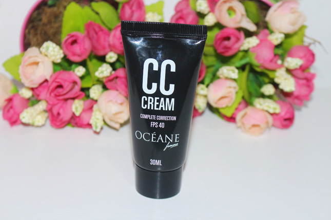 Resenha: CC cream Oceane complete correction
