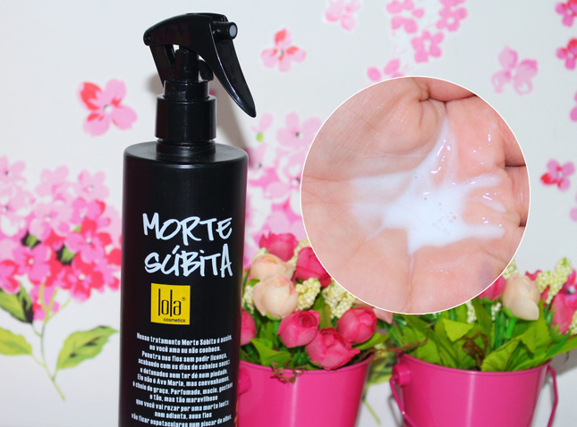 Resenha: Morte Súbita Spray Lola Cosmetics