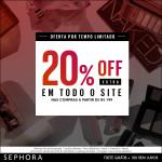 20% Off na Sephora*