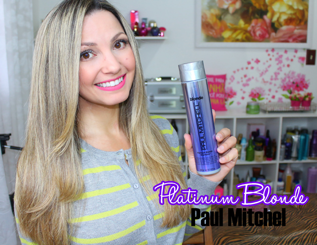 Resenha: Shampoo Paul Mitchel Platinum Blonde