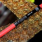 Resenha: Aqua Lip Makeup For ever/ batom lápis