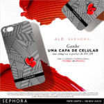 Capinha para iPhone gratis na Sephora