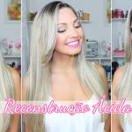 #4 Diario do cabelo descolorido: Reconstrução Ácida