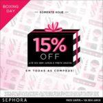 15% off na Sephora