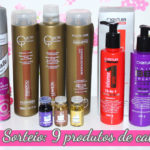 Resultado do sorteio 9 produtos de cabelo