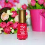 Frisson 3 free Sensitive Top Beauty no esmalte da semana