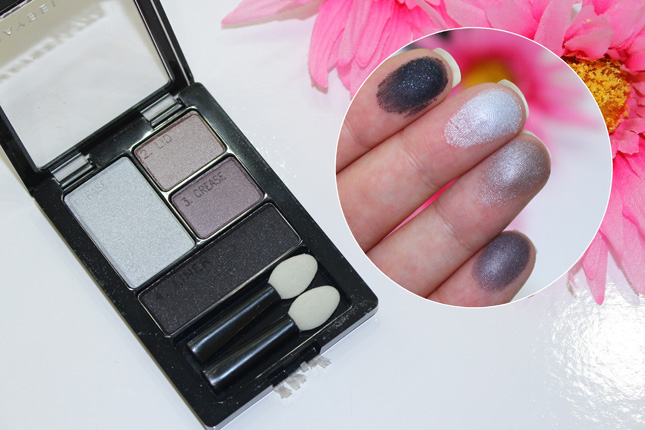 Charcoal Smokes swatches e resenha Sombras Maybelline: duos e quartetos