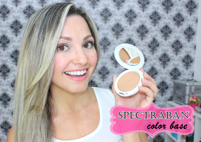 Resenha: Spectraban color base compacta cor bege claro