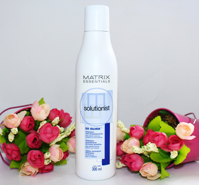 Resenha: shampoo Matrix so silver