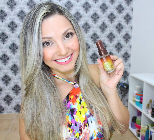 Resenha: Oil Reflection Wella