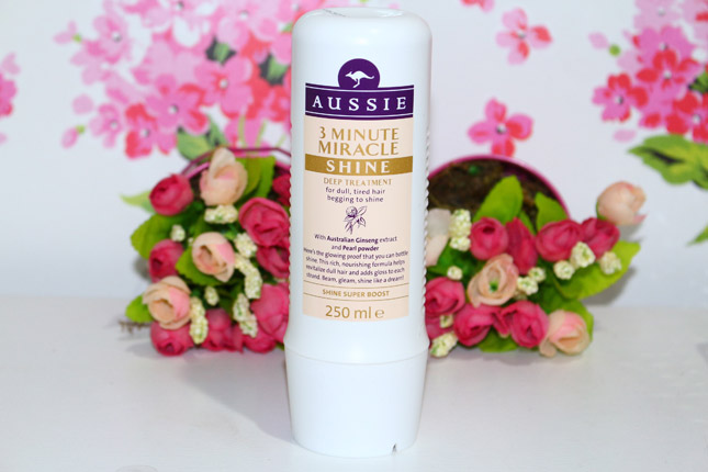 Resenha: Aussie 3 Minute Miracle Shine Deep Treatment