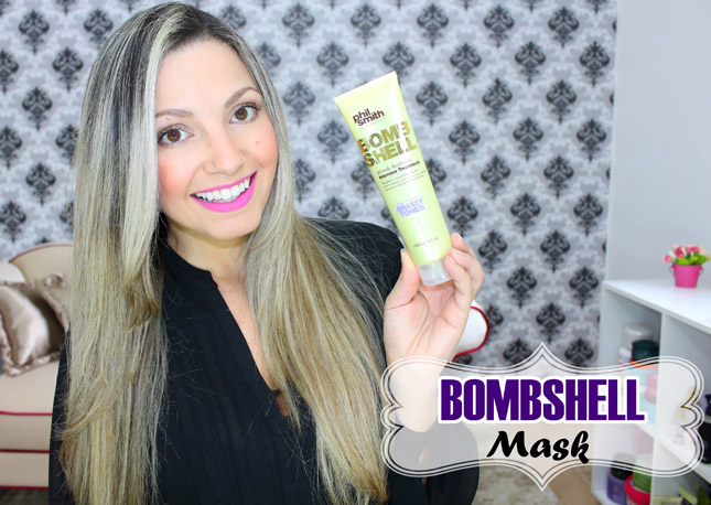 Resenha: Bombsheel Blonde Radiance Phil Smith/ blassy tones mascara