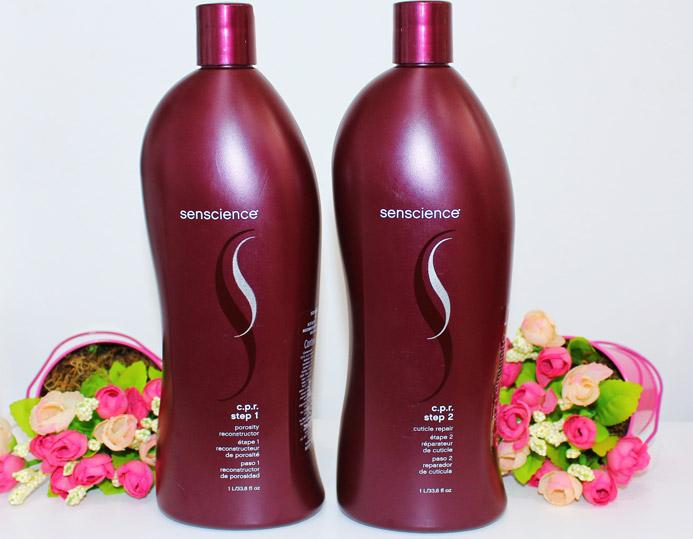 CPR Senscience: aplicacao e resenha no diario do cabelo descolorido