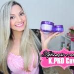K.Pro Caviar mascara e serum/ post + video aplicação