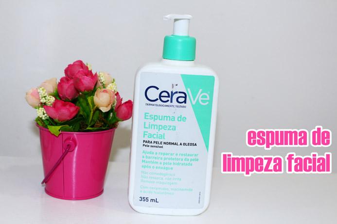 Resenha: Espuma de limpeza facial CeraVe