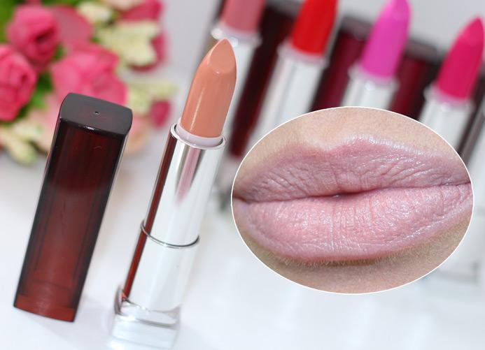 Batons Color Sensation maybelline (rosas, vermelhos e nudes)