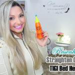 Resenha: Straighten out Tigi Bed head