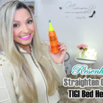 Resenha: Straighten out Tigi Bed head