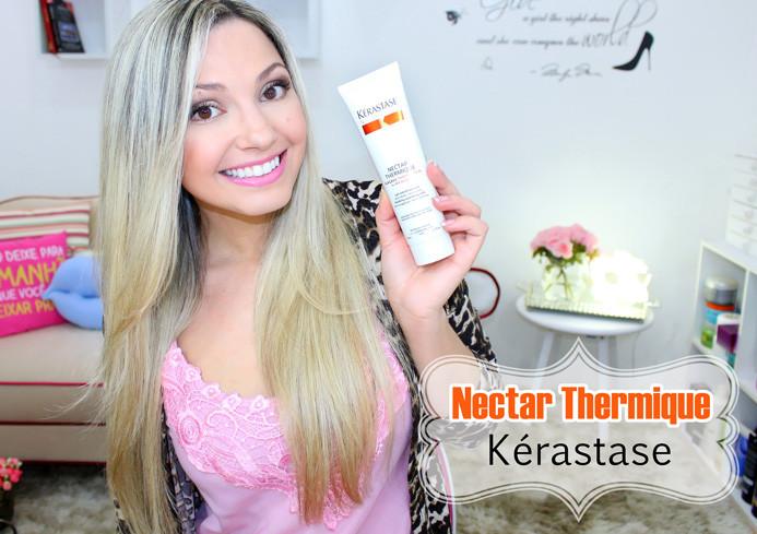 Resenha: Nectar thermique Kerastase Nutritive