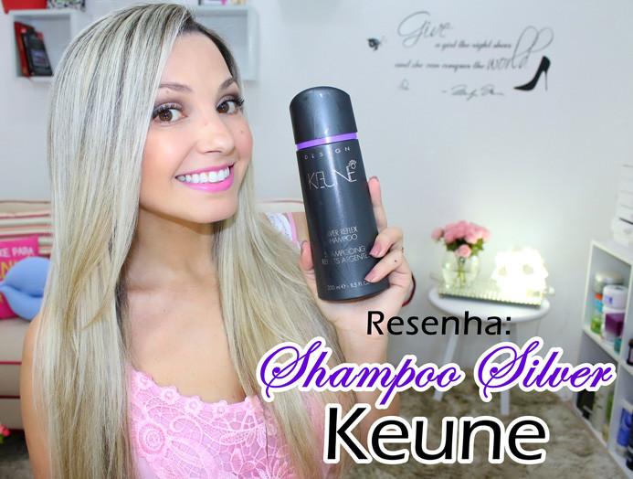 Resenhar: Silver Reflex Keune/ shampoo desamarelador
