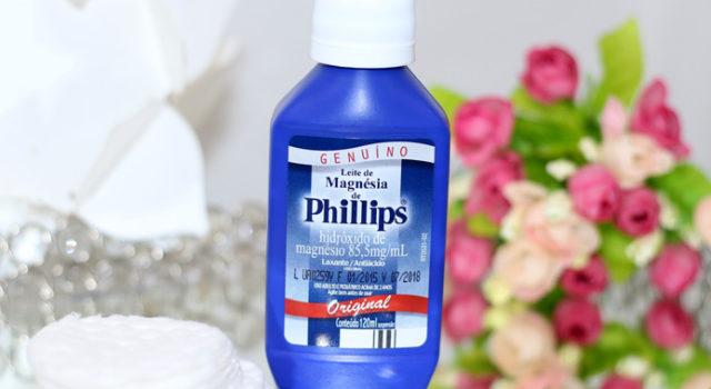 Leite de magnesia Philips no combate a oleosidade da pele!