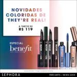 Novidades coloridas de They're Real Benefit na Sephora*