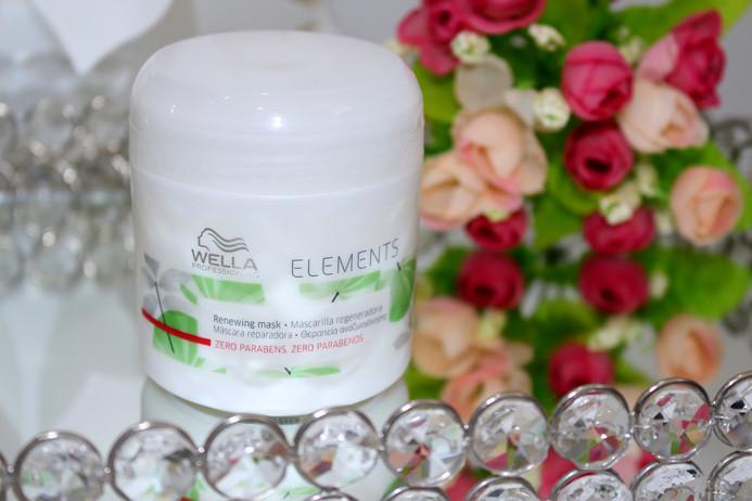 Resenha: mascara reparadora Wella elements sem parabenos