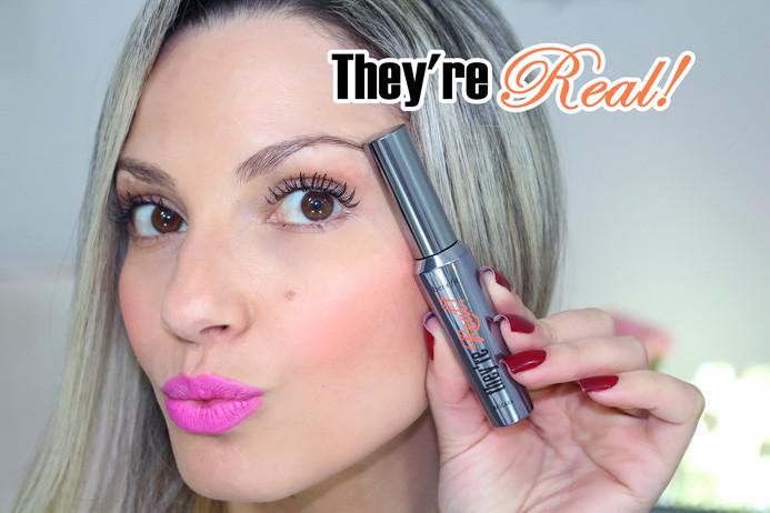 Resenha: They're Real máscara de cilios