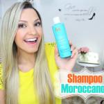 Resenha: Shampoo Moroccanoil Reparador de umidade