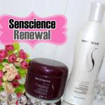 Resenha: Senscience Renewal anti-aging shampoo e mascara