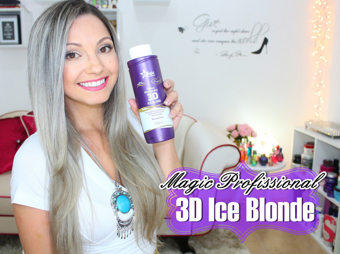 3D Ice Blonde Magic Profissional
