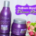 Resenha e aplicação: Platinum Blond Forever Liss