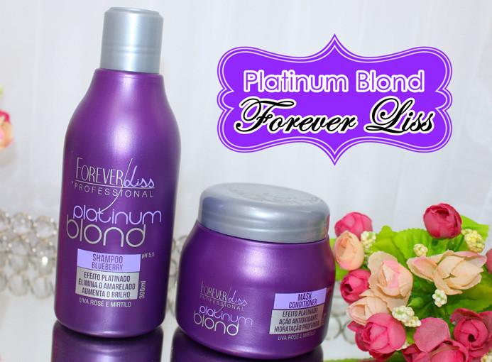 Resenha: Platinum Blond Forever Liss