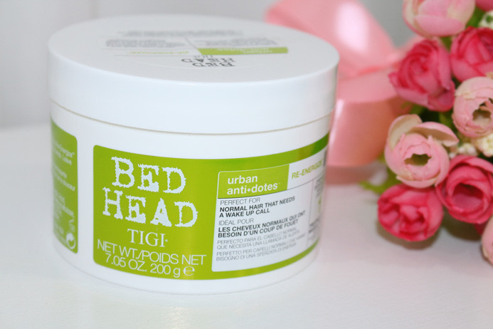 Resenha: TIGI Bed Head Urban Anti+Dotes 1 Re-Energize Máscara de Tratamento