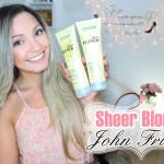 Resenha: Sheer Blonde Lustrous Touch John Frieda shampoo e condicionador