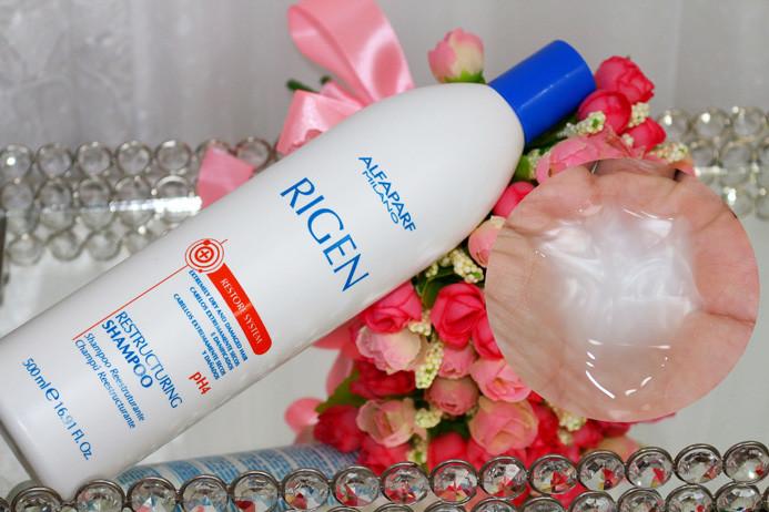 Resenha: Rigen restore System ultra restructuring conditioner mask shampoo e máscara