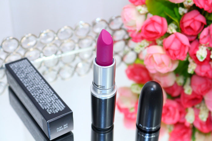 Flat Out Fabulous MAC: batom da vez