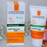 Resenha: Anthelios Airlicium fps 70 La Roche Posay gel creme toque limpo