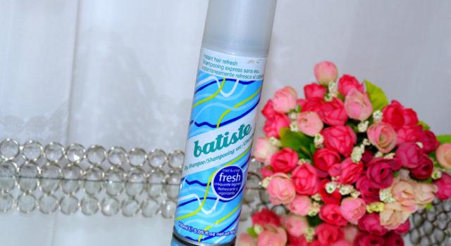 Resenha: shampoo a seco Fresh Batiste