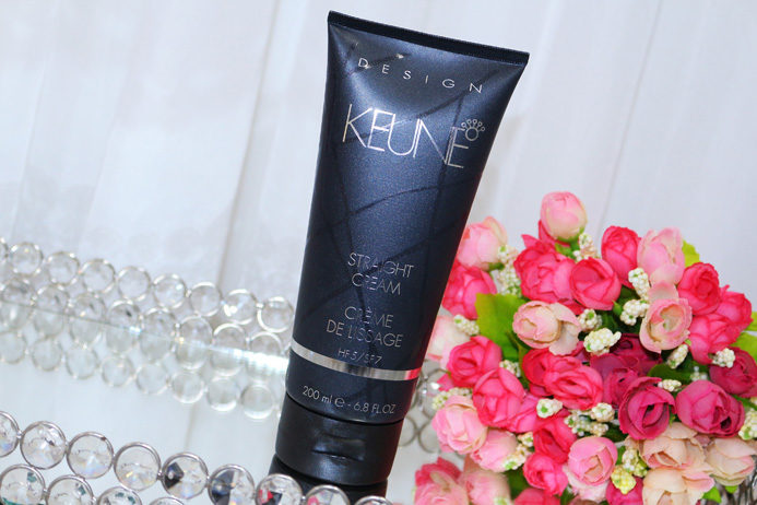 Resenha: Straight cream Keune leave in de alisamento temporario