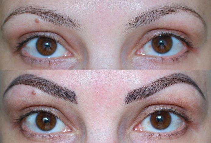 Micropigmentacao de sobrancelhas fio a fio