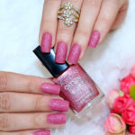 Pink crystal Avon no esmalte da semana