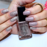 Rosa crystal Avon no esmalte da semana + madrinha