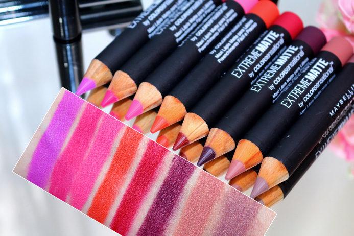 Resenha: lápis Extreme Matte Maybelline Color Sensational