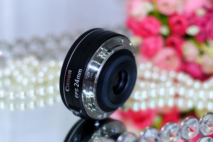 Lente Canon 24mm f2.8 STM: resenha