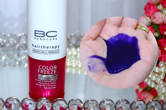 Desamarelando o loiro com shampoo roxo: o que tenho usado