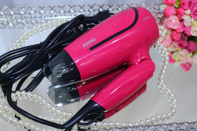68729f602 Resenha  secador Arno Nomad bivoltEu vou de Rosa- Cabelos e Cosméticos